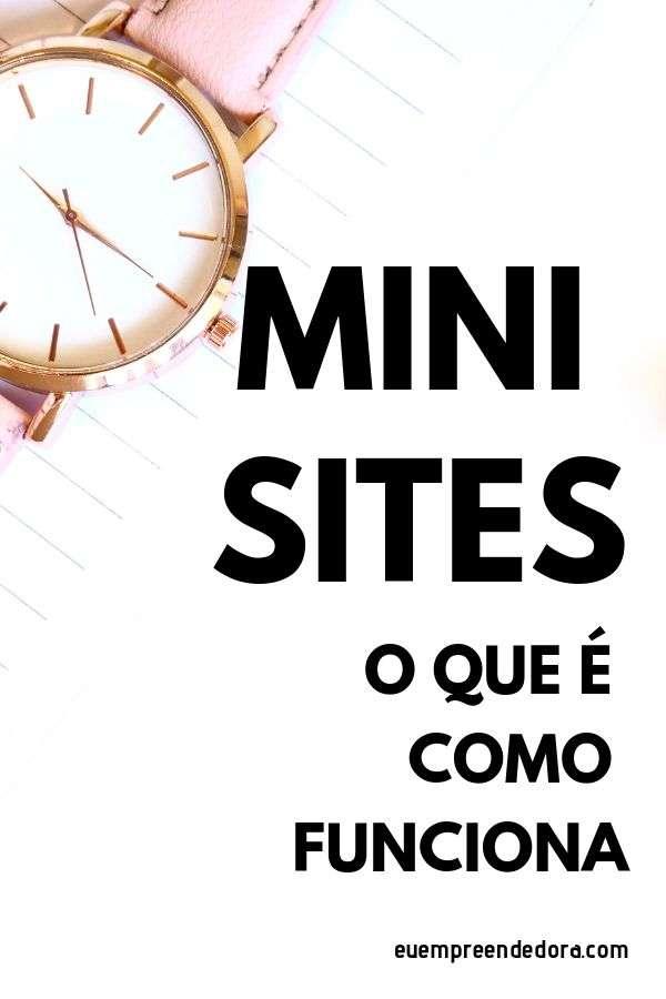 o que é mini site