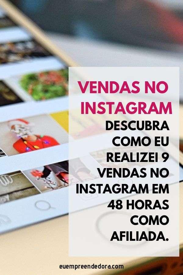 como vender no instagram como afiliada